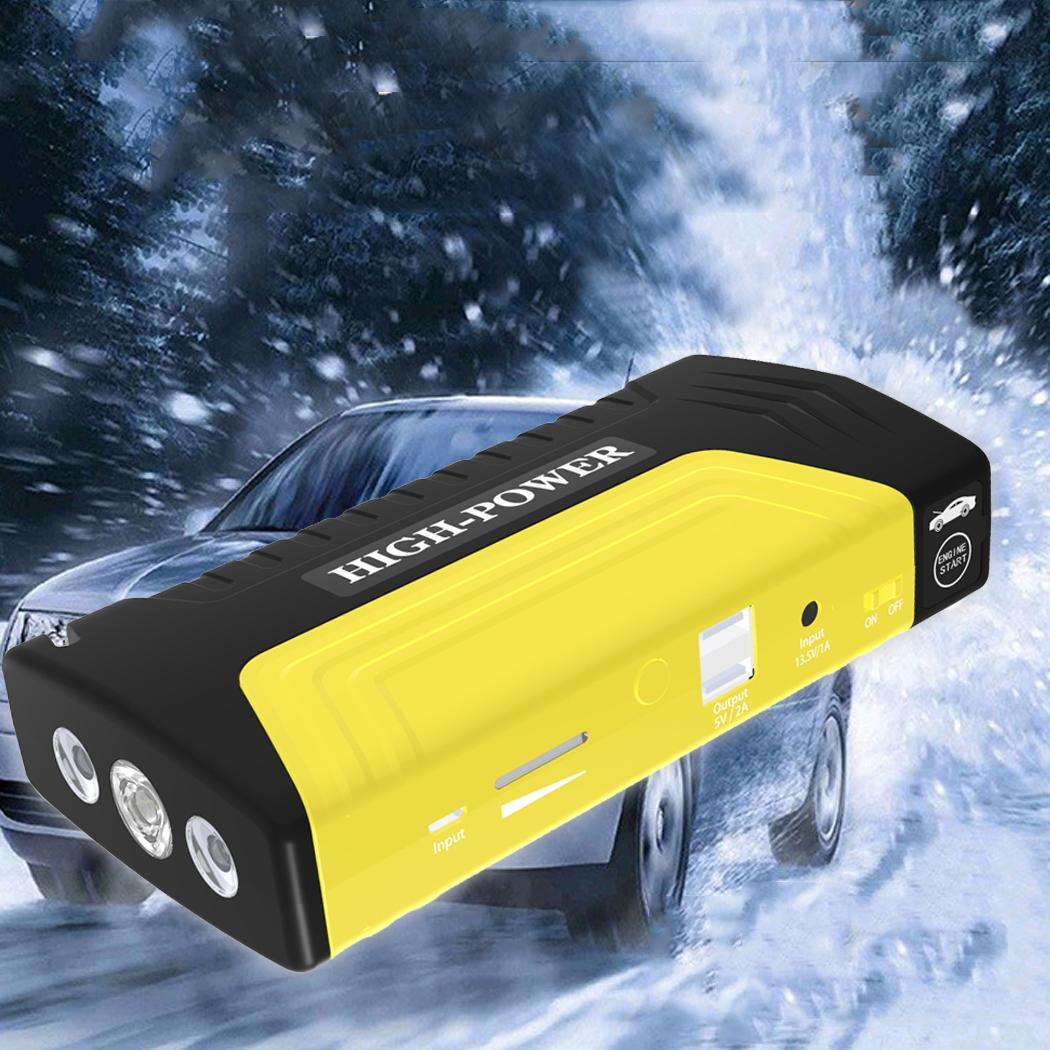 Portable Car Battery Charger Booster Starting Device Car Emergency 6 L Gasoline car,4 L Diesel car Start Power