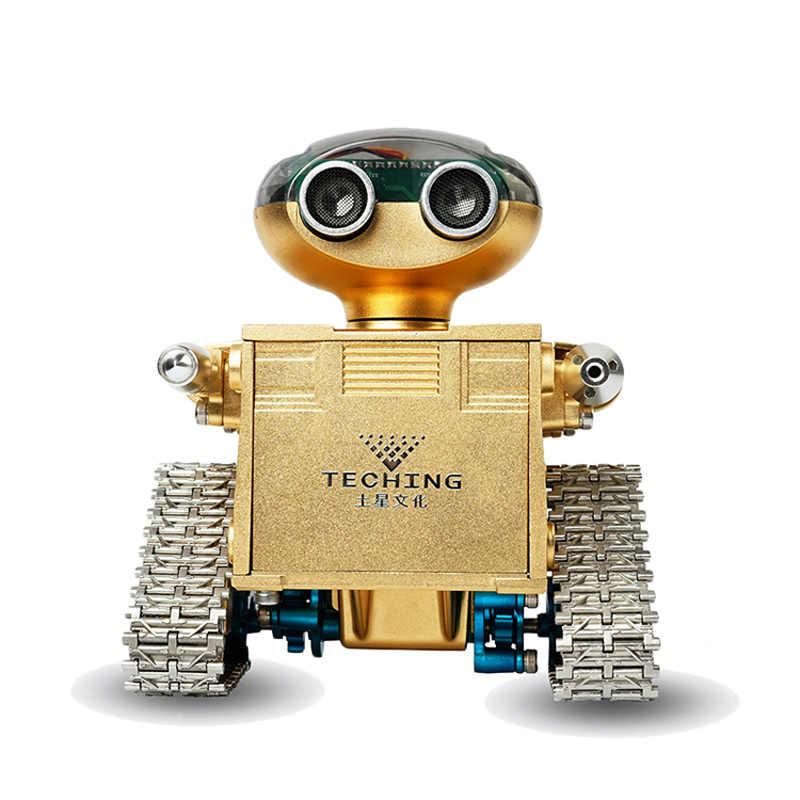 TECHING Traiblazers 1 DIY робот самособранный bluetooth приложение управление Смарт для Android система игрушки хобби детские развивающие