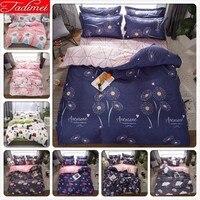 Blue Nigh Sweet Duvet Cover Bedding Set Adult Kids Soft Cotton Bed Linen Single Full Queen King Size Bedspreads Quilt Comforter