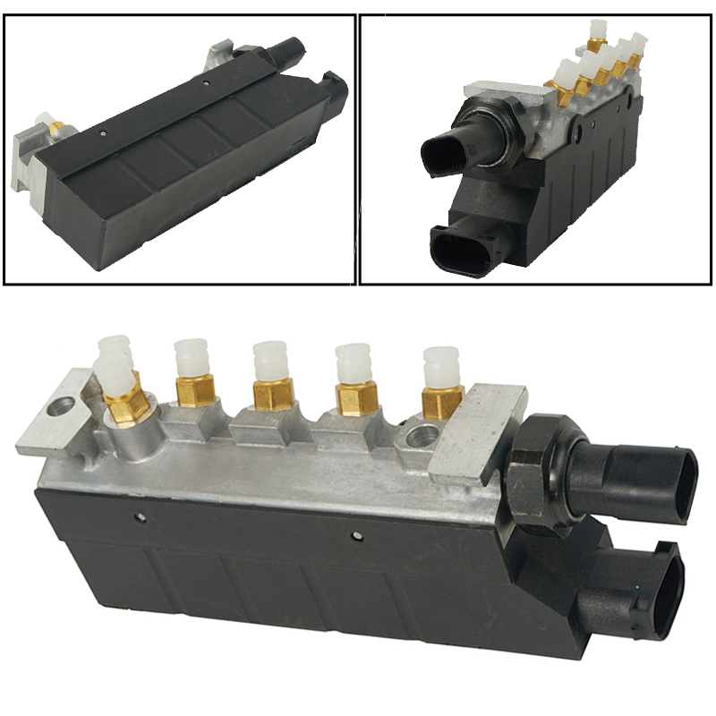 New Suspension Valve Air Supply Solenoid Valve Block For Mercedes <font><b>W220</b></font> S350 S430 <font><b>S500</b></font> S600 S55 S6 Car accessories 2203200258 image