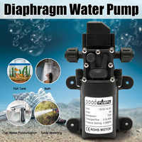 Water Pump 12V 6A 72W 130PSI 6L/Min Stable High Pressure Diaphragm Water Pump PressureProtection Water Sprayer for Caravan Boat