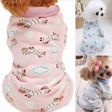Пижамы для собак, одежда для домашних животных, одежда для щенков, пальто, рубашка для кошек, комбинезон, одежда, костюм