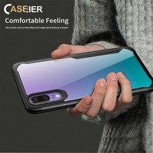 CASEIER Soft TPU Shockproof Case For Xiaomi Redmi 6 Pro Note 5 Transparent PC bumper Funda Coque Mi8 SE Max3 Bag