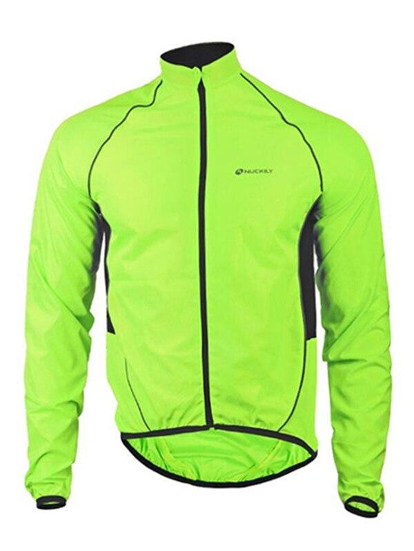 NUCKILY MJ004 vêtements de vélo à manches longues coupe-vent Jersey VTT imperméable pour hommes et femmes