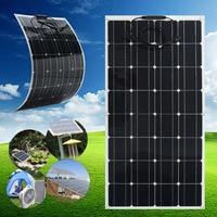 KINCO 2 шт./компл. SP 37 18 в/100 Вт полугибкий монокристаллическая солнечная панель кремния солнечной системы питание для автомобиля батарея