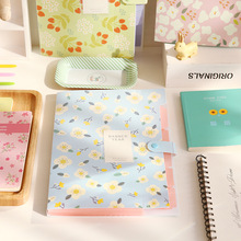 10 pcs 32*24cm Korea Stationery Shivering Series 8 Income Folder Fresh Data Accept Test Paper Mix Organ Package plastic File bag