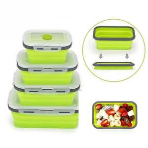 HOUSEEN Bento Lunch Box Food Storage Containers Microwave