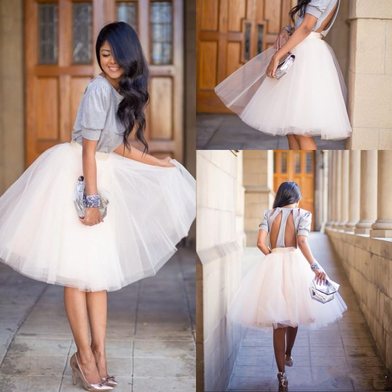 Skirts Womens For Retro Vintage Women Gown Faldas Saias Tulle Tutu Skirt Rockabilly Petticoat Summer Crinoline Fluffy Underskirt