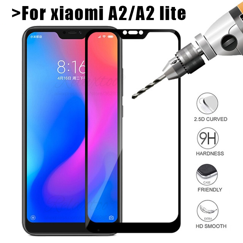 Tempered Glass For Xiaomi Mi A2 Lite Screen Protector For Xiaomi Xiomi Ksiomi Mi A 2 A2 Lite A2Lite Protective Glass Touch Film