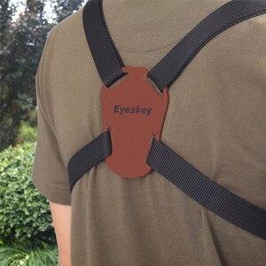 Image 4 - X Shaped Harness Strap Adjustable Binoculars Carrier Elastic Durable Shoulder Straps Optics Accessories For Binocular