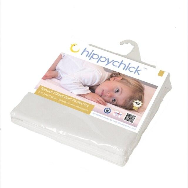 Простынка Hippychick (Хиппичик) детская непромокаемая на резинке, материал Tencel 60см Х 120см