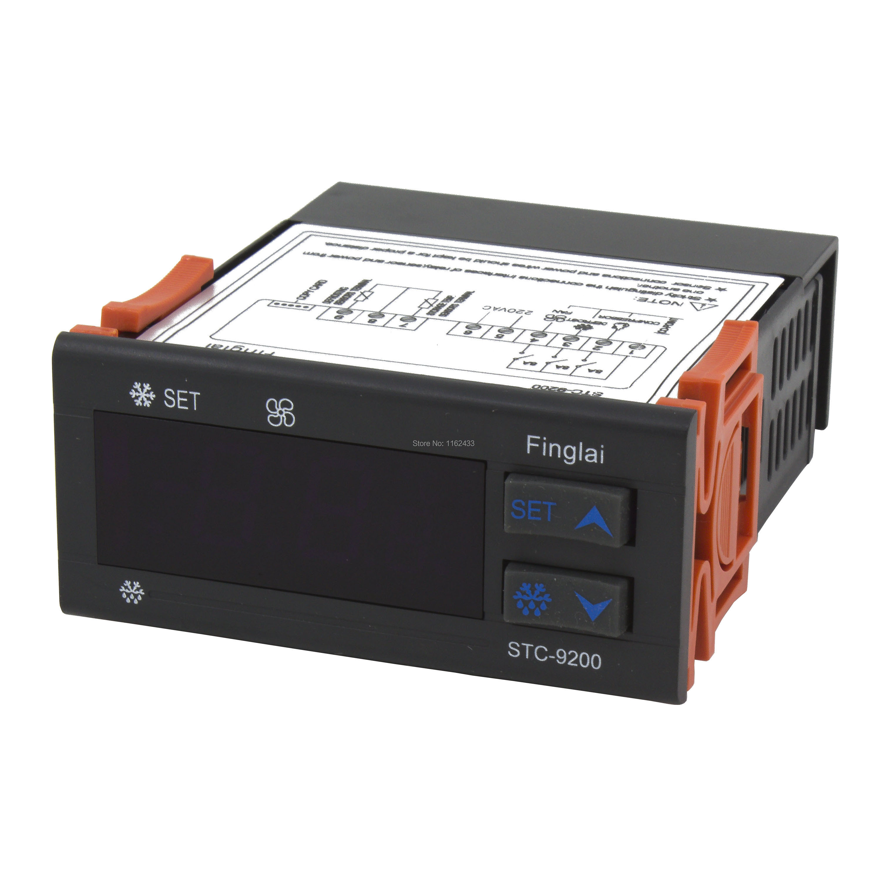 STC-9200 Temperature Controller With Refrigeration Defrost Fan Alarm Function And Two Sensors AC 220V 110V AC/DC 24V 12V