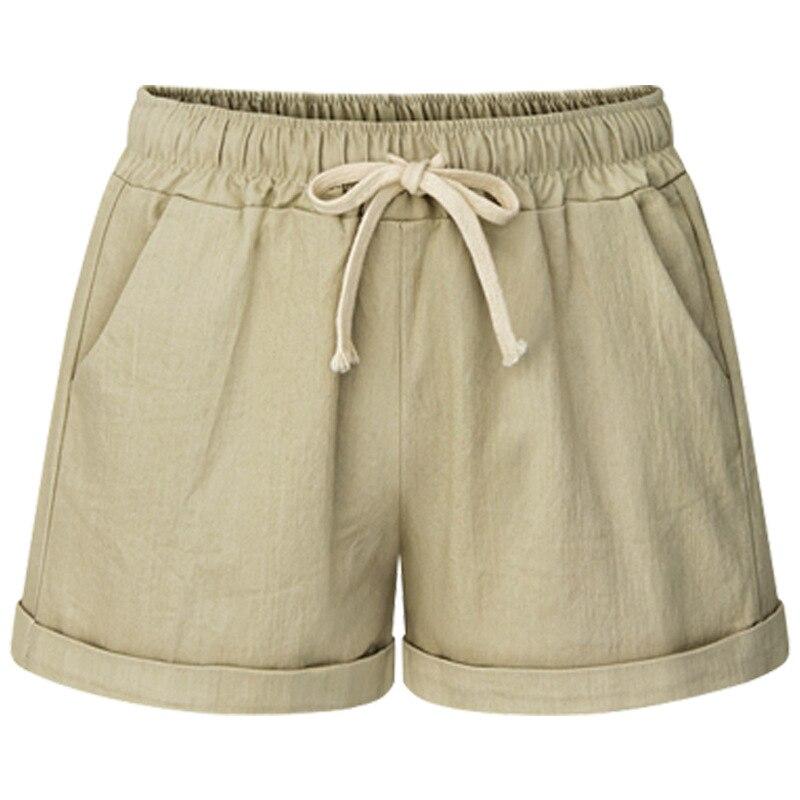 M-8XL Large Size Shorts Woman Female Summer Thin Leisure Harem Loose Shorts Wide-Leg Female Trousers Short Feminino 2003