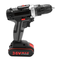 36V Multifunctional Electric Impact Cordless Drill Hand Driver Wireless Rechargeable Electrical Hand Driver Power tools
