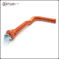 Motorbike Orange & Blue Forged Kick Start Starter Lever Pedal Arm For KTM SX SXF XC EXC XCF XCW XCFW 250 300 350 450 500