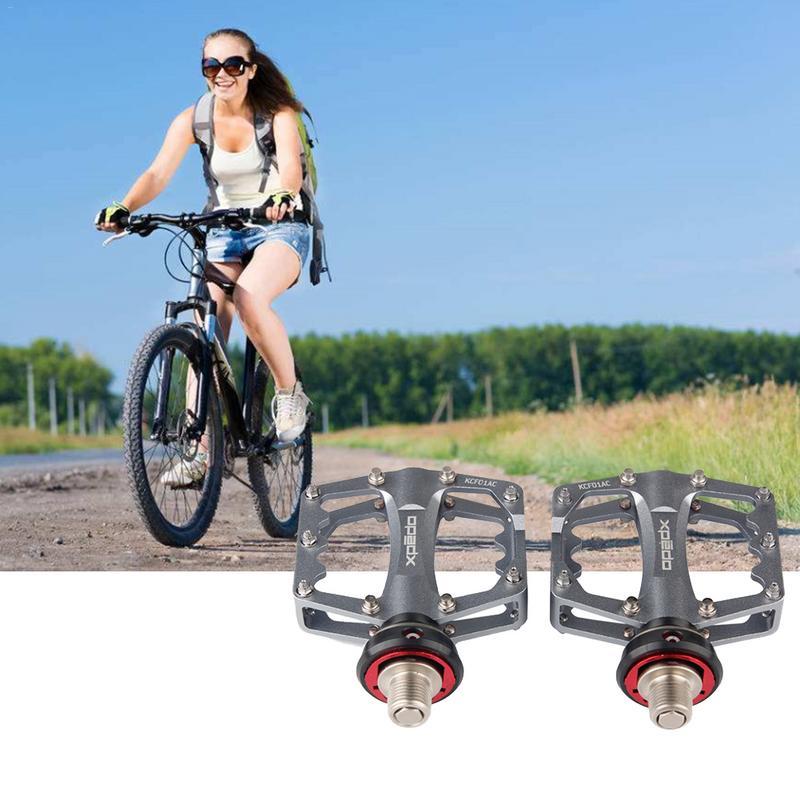 LACYIE VTT pédale de vélo vtt vélo de route ultraléger en alliage d'aluminium pédale essieu cyclisme Seald roulement pédale