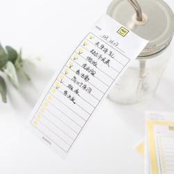 30 листов Kawaii Неделя Месяц планировщик для заметок с клеящим слоем колодки To Do List блокноты для записей для детей подарок для девочек школа