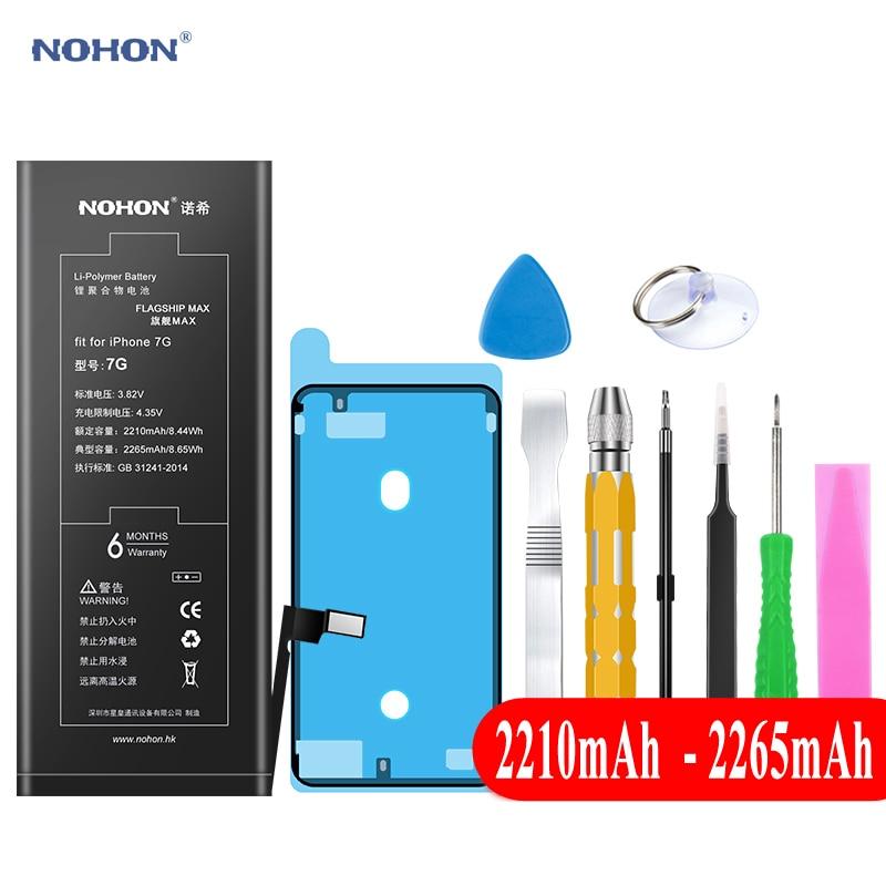 Nohon Batterie Für Apple iPhone 7 8 Plus 5 s 7 Plus 7 P 8 P iPhone7 1700 ~ 3360 mAh Bateria + Werkzeuge Für iPhone 5 s 8 7 Plus Batterien 2019