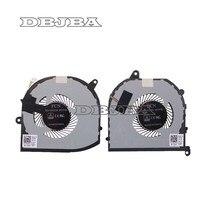 Laptop Ventilador de Refrigeração Para Dell XPS 15 9570 008YY9 0TK9J1 08YY9 TK9J1 Esquerda e Direita fã