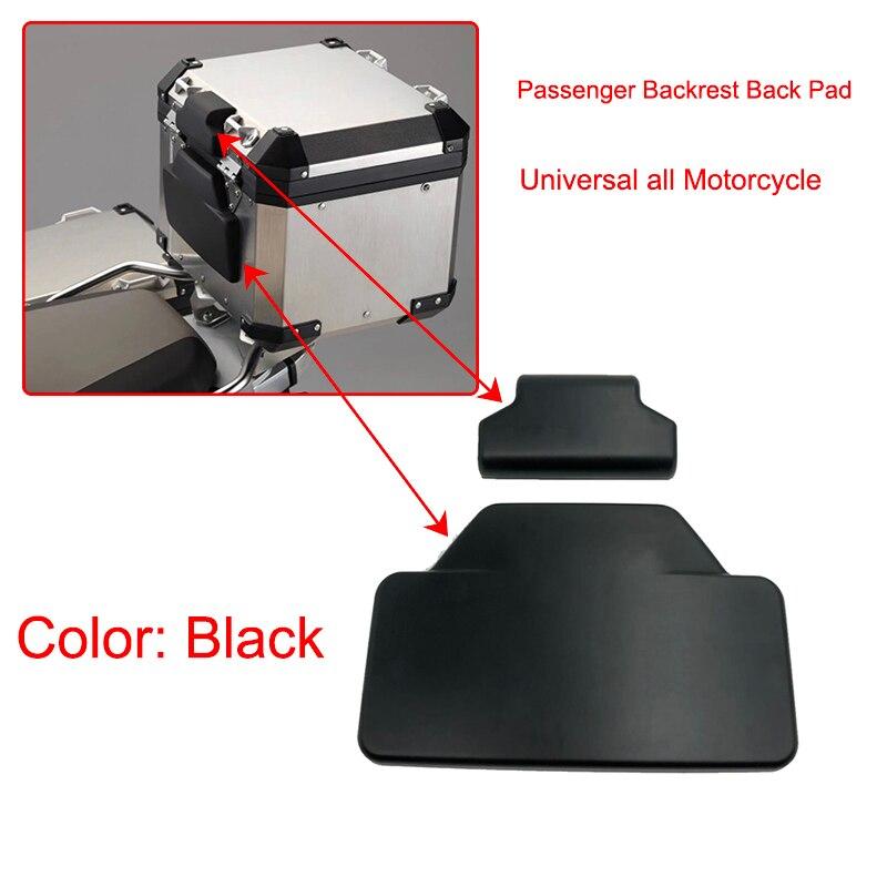 Noir TREONK Dossier de Moto du Passager pour Aluminium Topcase Trekker Outback Convient pour R 1250 GS//Adventure F850GS //ADV F 800 GS ADV//ADV F750 GS F700GS//R1200GS// ADV R1200GS//G310GS