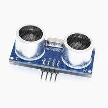 500Pcs Ultrasone Module HC SR04 Afstand Meet Transducers Sensor