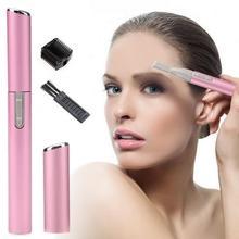 Mini Portable Electric Eyebrow Trimmer Hair Remove For Bikini Underarm Leg