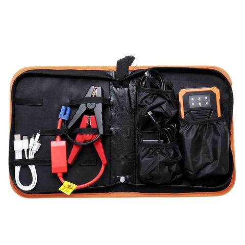 2A Fast Charger Car Jump Starter Power Supply 89800mAh Battery Booster USB Power Bank 9V Dual USB Output With Display Multan