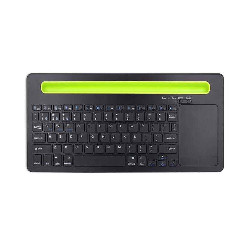 3 en 1 nouveau sans fil Bluetooth clavier tactile souris Slot trois fonction d'appariement tablette téléphone universel avec support de fente pour carte