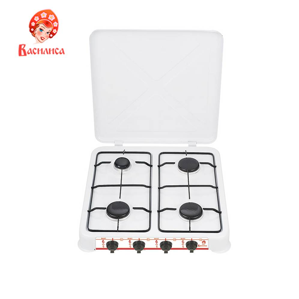 Hot Plates VASILISA 0R-00000200 home kitchen appliances cooking plate cooktop GP4-2050 gas stove hob