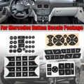 車ボタン修理ステアリング AC ドアロック窓ステッカー新メルセデスベンツ 2007-2014 ボタンの修理ステッカーデカール