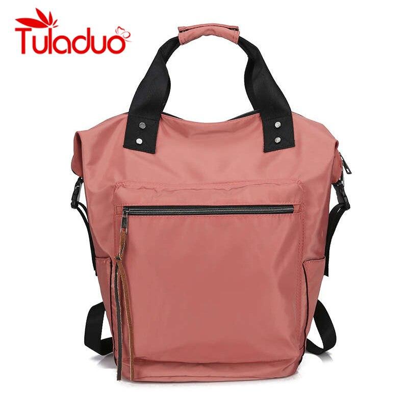 Sac à dos femmes sac à bandoulière sacs à dos décontractés dames haute capacité sac de retour à l'école adolescentes filles voyage étudiants Mochila Bolsa