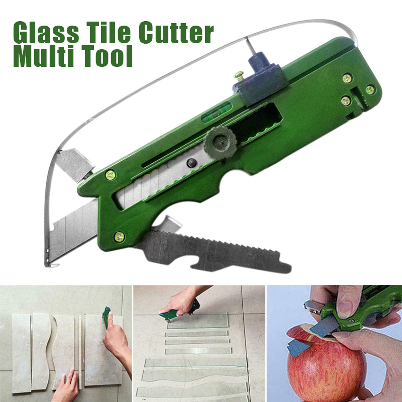 Multifunction Foldable Glass Tile Cutter Blade Sharpener Ceramic Plastic Glass Cutting Craft Hand Tool