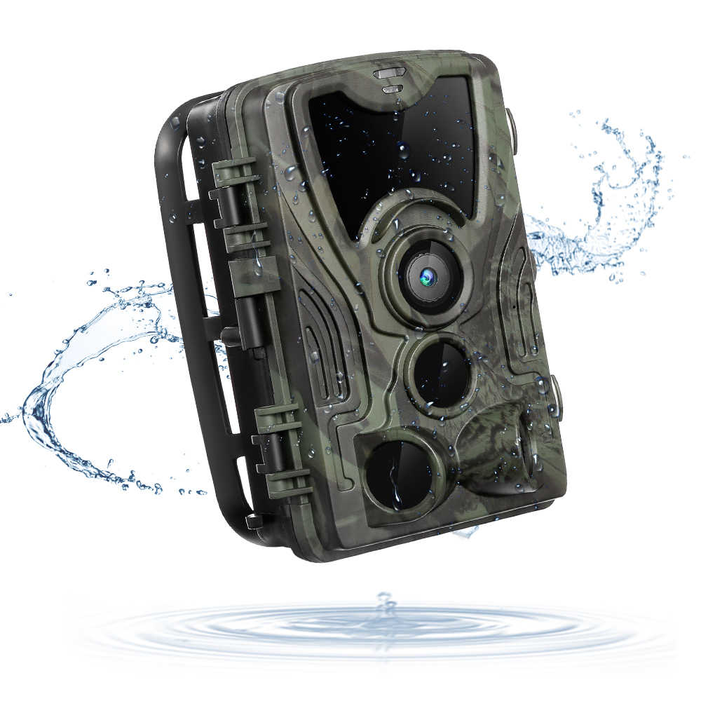 Hunting Camera Trail Cameras HC-801A 16MP 1080P Photo Trap 0.3s Trigger Wild Wildlife Infrared Camera Chasse Scout