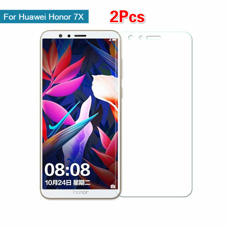 2Pcs 9H Tempered Glass For Huawei Honor 7X Screen Protector For Honor 7x Glass Protective Film 2.5D Cover On BND L21 TL10 AL102Pcs 9H Tempered Glass For Huawei Honor 7X Screen Protector For Honor 7x Glass Protective Film 2.5D Cover On BND L21 TL10 AL10