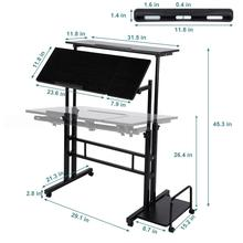 Adjustable Laptop Desk Ergonomic Portable Lapdesk Tray PC Table Stand Notebook Table Desk Stand