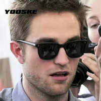 YOOSKE Retro Sunglasses Men Vintage Brand Designer Driving Sun Glasses Female Male High Quality Mirror Eyewear Shades for Women