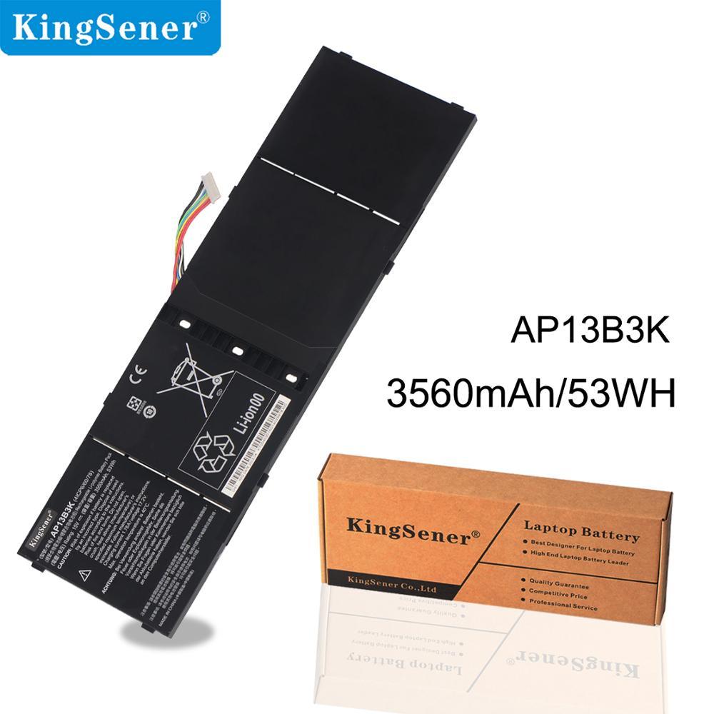 KingSener AP13B3K Bateria Do Portátil para Acer Aspire V5 R7 V7 V5-572G V5-573G V5-472G V5-473G V5-552G M5-583P V5-572P R7-571 AP13B8K