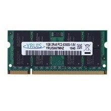 Yruis Ddr2 800 МГц sodimm ОЗУ поддержка памяти ноутбука Memoria Ddr2 ноутбук(1,8 в