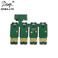 СНПЧ дуги Авто Запасной картридж чип для Epson WF-7210 WF-7720 WF-7715 WF-7710 WF-7110/WF-7610/WF-7620/WF-3620/WF-3640 принтер