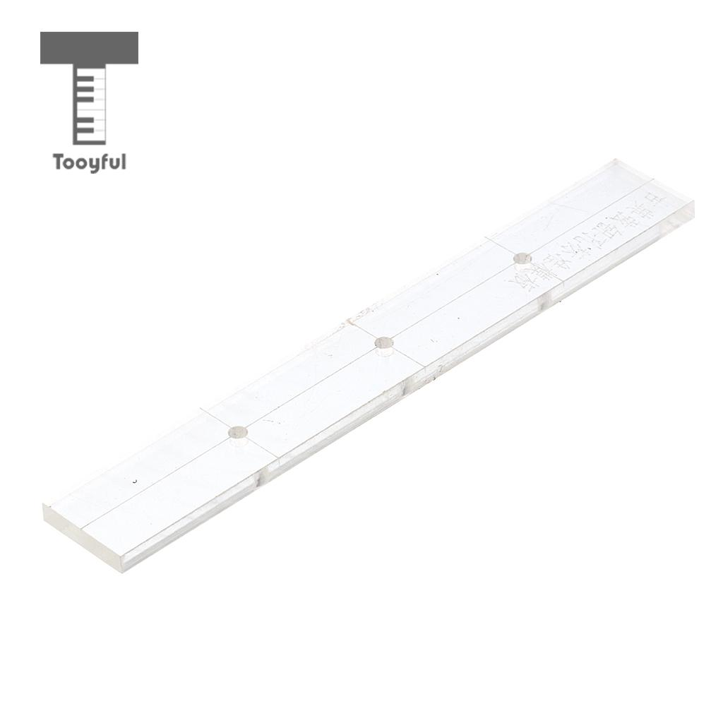 Stringed Instruments Apprehensive Clear Acrylic Fingerboard Fretwire Position Making Template For 41 Classical Guitar Parts Consumers First