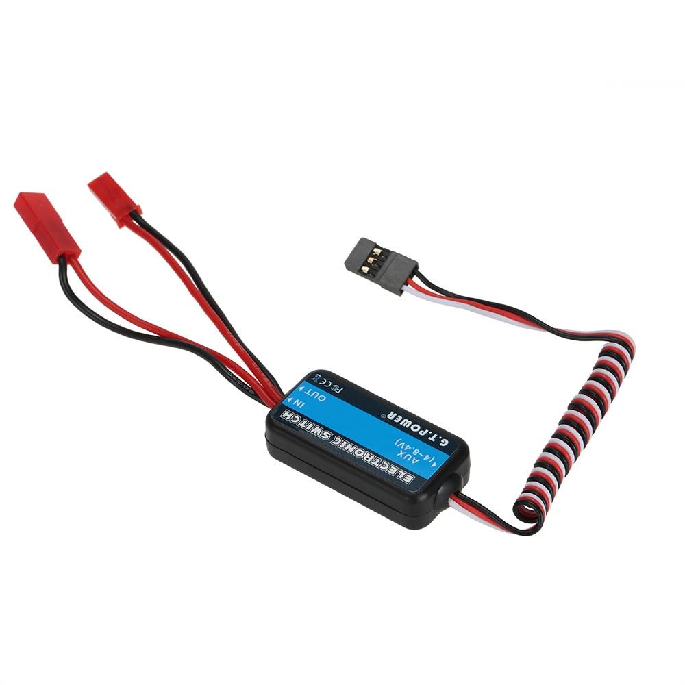 Fernbedienung Schalter G. t. POWER für Empfänger RX High-power 4-8,4 V Elektronische Teile Schalter für Nitro RC Auto Hubschrauber Drone
