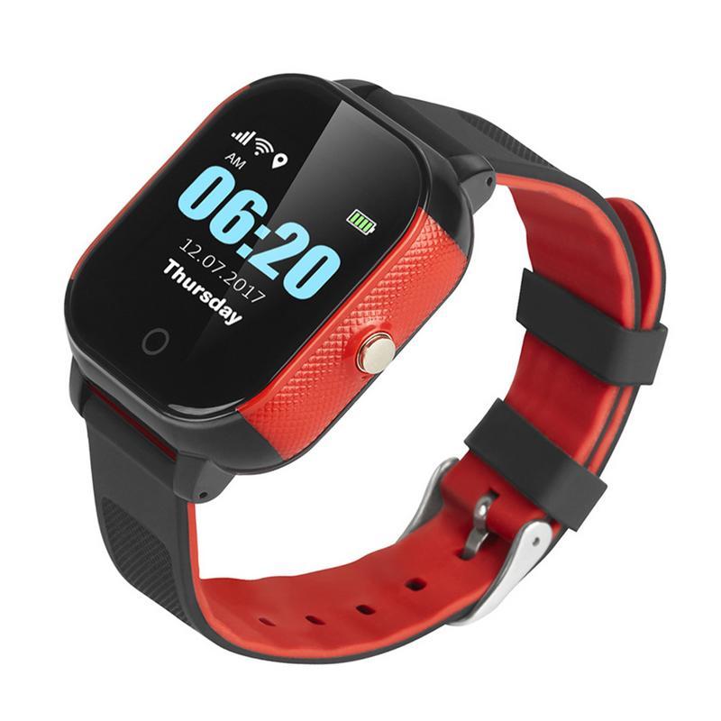FA23 étanche enfants montre intelligente IPS GPS + boussole + WIFI + LBS positionnement précis SOS surveillance des appels comptage des pas en bonne santé