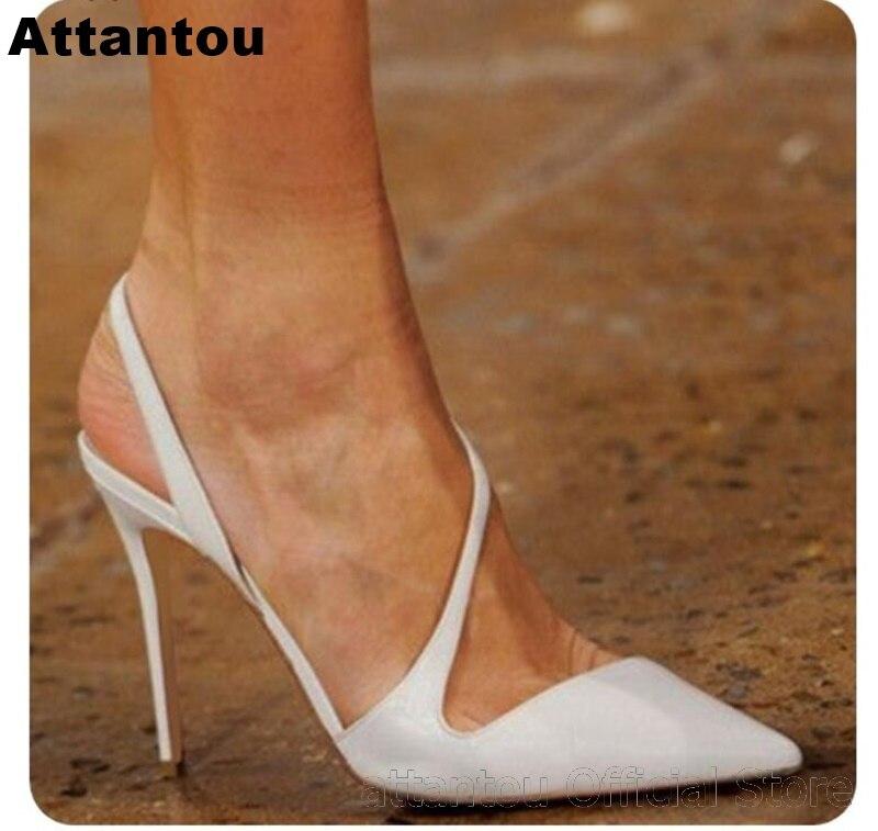 Mode peu profonde souris blanc peau de mouton en cuir sexy pompes à talons parti robe chaussure femmes bout pointu sans lacet talons aiguilles