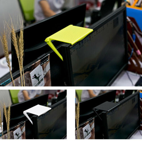 New Fashionable Creative Adjustable Screen Shelf Storage Rack Clip Practical Computer Table Desk Stand Accessories