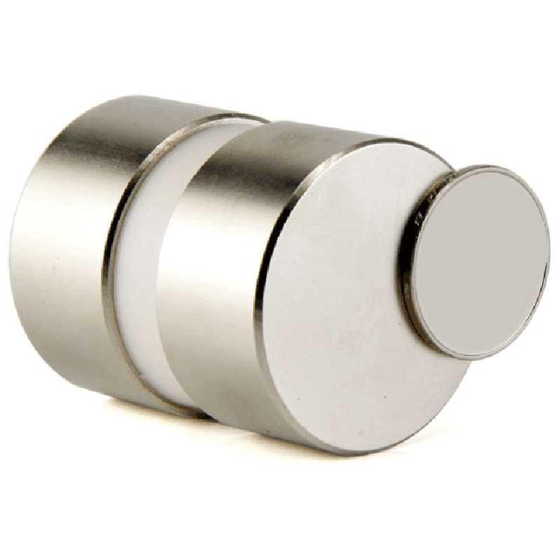 2 шт. 40 мм X 20 мм супер мощный круглый магнит водомера инструмент неодимовый магнит рыбалка