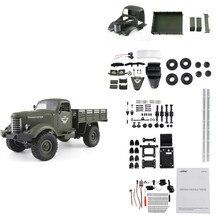 JJRC Q61 Kit 1/16 2.4G 4WD Off-Road Militaire Truck Crawler RC Auto DIY RC Auto Kit Voor kinderen Speelgoed 2019 Nieuwe Aankomst