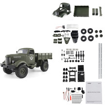 JJRC Q61 Kit 1/16 2.4G 4WD Off-Road Military Truck Crawler RC Car DIY RC Car Kit For Kids Toys 2019 New Arrival