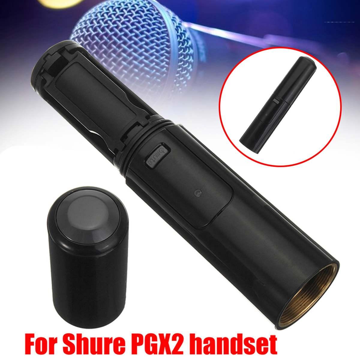 Escudo do microfone sem fio capa de habitação sem fio handheld corpo plástico handheld escudo microfone acessório