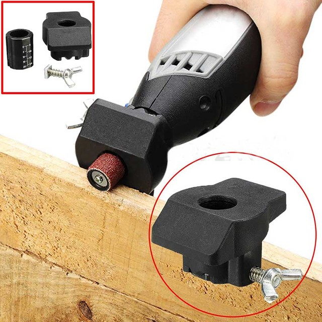 1 x Sanding and Grinding Guide Attachment Locator Positioner Rotary Tool