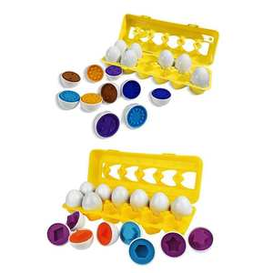 Matching-Toy-Eggs-Set Toddler Toys Count-Shape Children Number Funny-Toys Puzzle Game-Gifts